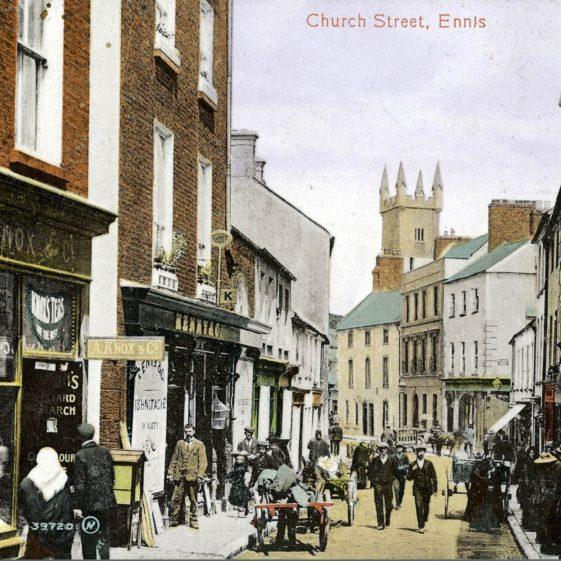 Abbey Street, Ennis, 1900 | ClareCoCo