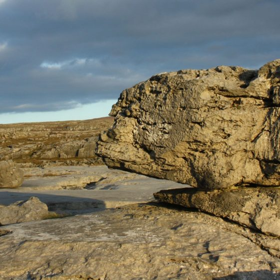 An Erratic at The Burren | ClareCoCo