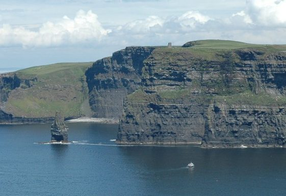 The Burren and The Cliffs of Moher