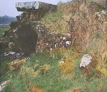 Burial Vault on Inishlosky Island | Courtesy of Pat Aherne