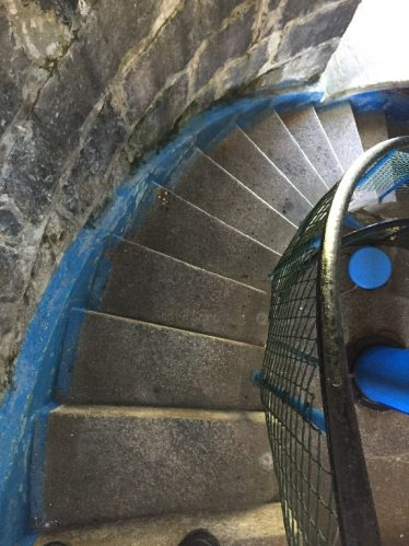 Spiral Staircase at Loop Head Lighthouse   Photo by Jim Ryan