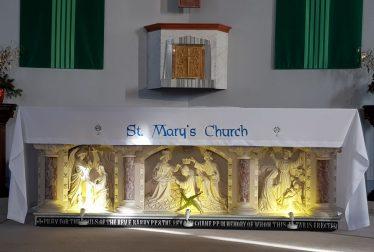 Altar of St Mary's Church | Ann Marie Meaney