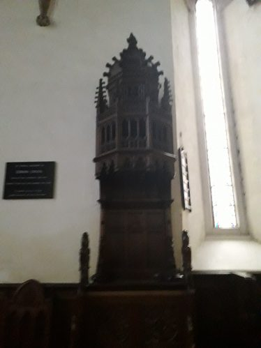 Bishops Throne in St Flannan's Cathedral Killaloe | Kerry Blake
