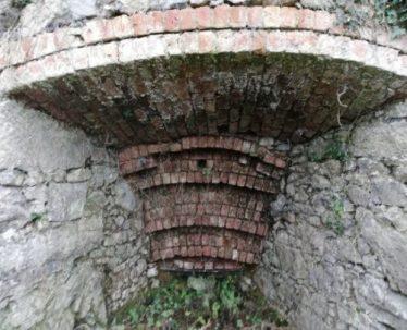 Draw Hole of Kilmurry Lime Kiln before conservation work (Sept 2019) | Carmel Frazer