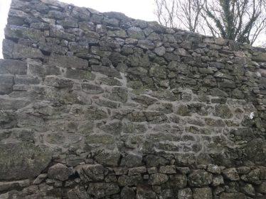 Side wall of Kilmurry lime kiln after conservation work (Nov 2019) | Carmel Frazer