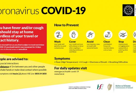 Advice on Covid-19