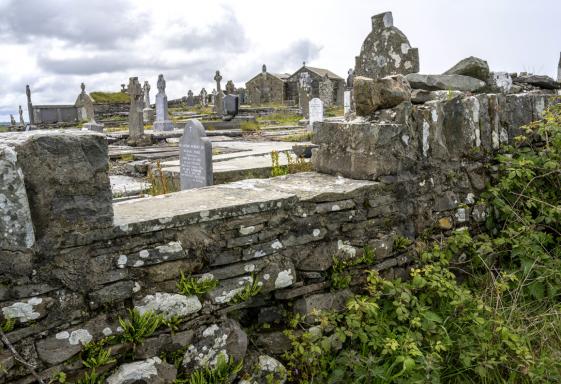 Funeral Stones in Clare