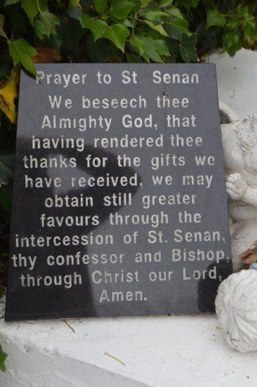Laghtsenan, Leacht Sheanáin Holy Well, Moylougha   James Feeney