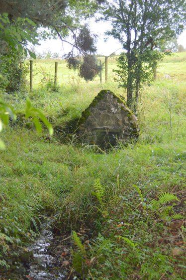 Tobermochulla, Tobar Mochuille, Saint Mochulla's Well, Flagmount   James Feeney