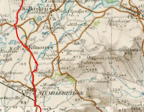 O'Brien's March from Limerick to Tulla in 1317