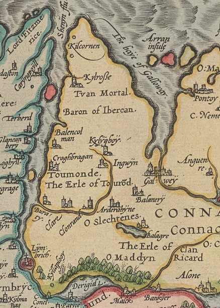 Ortelius Map from 1572 | Courtesy of Beinecke Library, Yale University