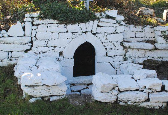 Glenina Holy Well, Tobar Na Croise Naofa, Tobernacrohaneeve, The Well of the Holy Cross.