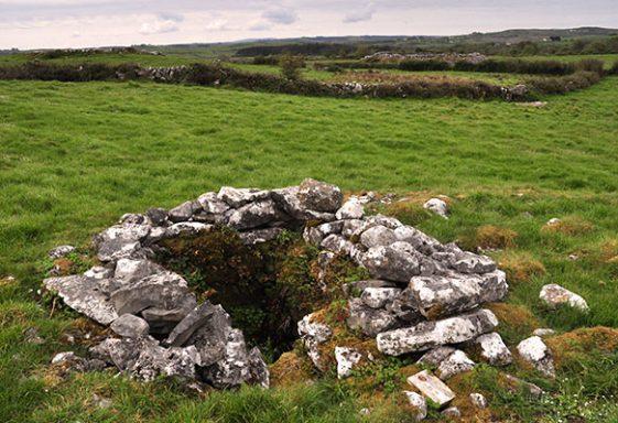 Saint Caimín's Holy Well, Caherminnaun